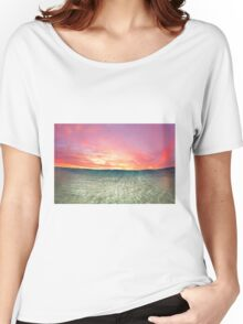 Pastel Sunrise III Women's Relaxed Fit T-Shirt