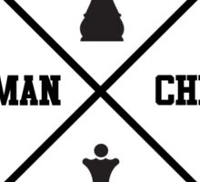 human chess Sticker