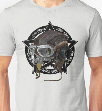 Skull Little Utopia Aviator  Unisex T-Shirt