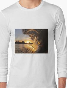 Barrel at Sunset III Long Sleeve T-Shirt