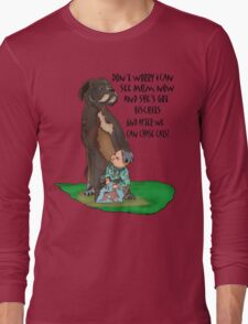 Billy Boxer and Son Long Sleeve T-Shirt