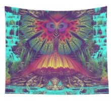 Swamp Nectar Wall Tapestry