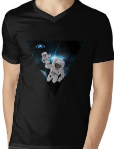 Cats Lost in Space Mens V-Neck T-Shirt