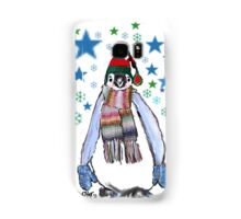 One Penguin Hat and Mittens Samsung Galaxy Case/Skin