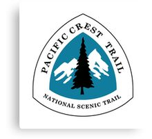 Pacific Crest National Scenic Trail Sign, USA Canvas Print