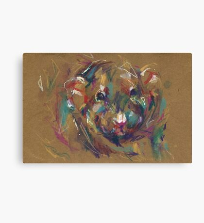 Muffin the rat II Canvas Print