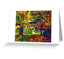 WOODLAND 5D-T Greeting Card