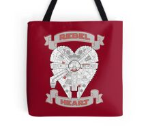 Rebel Heart - red Tote Bag