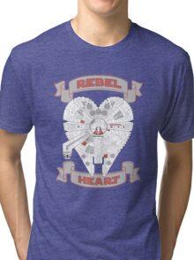Rebel Heart - red Tri-blend T-Shirt