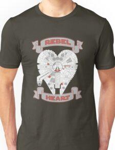 Rebel Heart - red Unisex T-Shirt