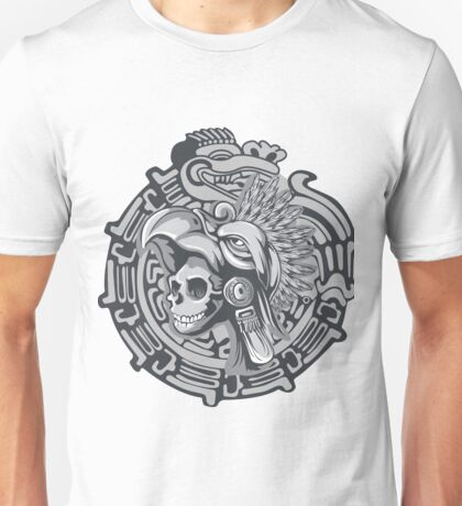 Aztec Skull Warrior  Unisex T-Shirt