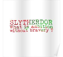 Slytherdor Quote NEW Poster