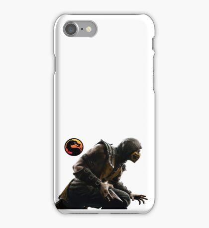 Mortal Kombat X - Scorpion Attack iPhone Case/Skin