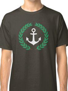 Pablo Escobar - Nautical Laurel Wreath With Anchor Classic T-Shirt