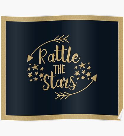 Throne of Glass - Rattle The Stars Poster