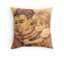 Auron & Tidus Throw Pillow