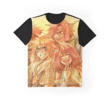 Auron & Tidus & Yuna & Braska & Yecht Graphic T-Shirt