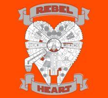 Rebel Heart - orange Kids Clothes