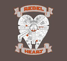 Rebel Heart - orange Unisex T-Shirt