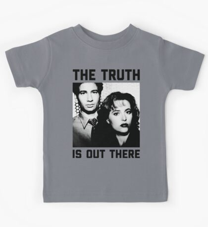 X-Files The Truth is out there Shirt Kids Tee