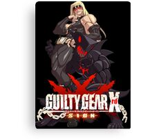 Guilty Gear Xrd- Zato 1  Canvas Print