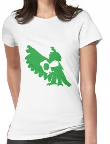 Rowlet Evolution Womens Fitted T-Shirt