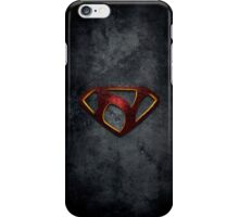 """The Letter N in the Style of """"Man of Steel"""" iPhone Case/Skin"""