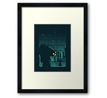 Come on, Mr. Bubbles! Framed Print