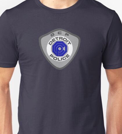 Robocop OCP Detroit Police insigna Unisex T-Shirt