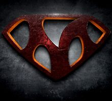 "The Letter M in the Style of ""Man of Steel"" by BigRockDJ"