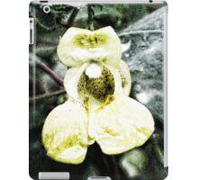 Yellow Jewel Weed iPad Case/Skin