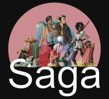 Saga, variant cover by kayllisti