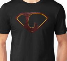 "The Letter L in the Style of ""Man of Steel"" Unisex T-Shirt"