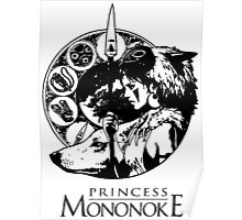 Studio Ghibli Mononoke Hime Shirt Poster