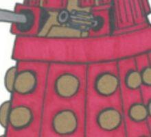 Red Dalek Sticker