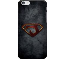 """The Letter J in the Style of """"Man of Steel"""" iPhone Case/Skin"""