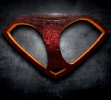 "The Letter I in the Style of ""Man of Steel"" by BigRockDJ"