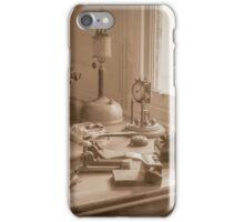 Antiques on a Table, Coal Creek, Korumburra  iPhone Case/Skin