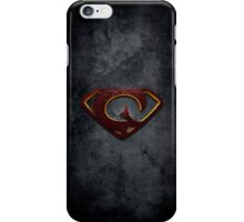 """The Letter G in the Style of """"Man of Steel"""" iPhone Case/Skin"""