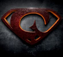 """The Letter G in the Style of """"Man of Steel"""" by BigRockDJ"""
