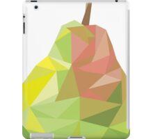 Pear Low-poly  iPad Case/Skin