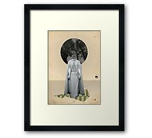 The last one to return that night  Framed Print