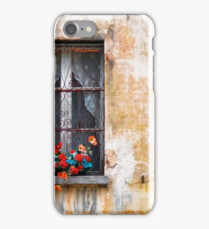 Fake flowers iPhone Case/Skin