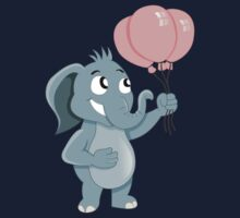 Cartoon elephant Kids Tee