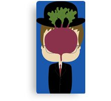 DWIGHT MAGRITTE SCHRUTE Canvas Print