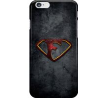 """The Letter F in the Style of """"Man of Steel"""" iPhone Case/Skin"""