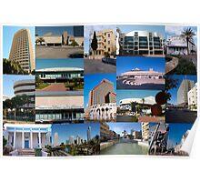Tel Aviv, Israel, collage Poster