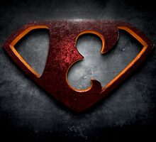 "The Letter E in the Style of ""Man of Steel"" by BigRockDJ"