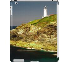 Trevose Head Lighthouse, Cornwall, UK ~ Atlantic Coast iPad Case/Skin