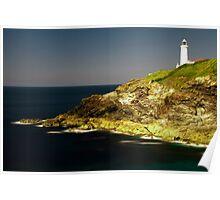 Trevose Head Lighthouse, Cornwall, UK ~ Atlantic Coast Poster